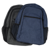 View Extra Image 3 of 4 of 4imprint Heathered 15 inches Laptop Backpack