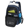 """View Image 2 of 5 of 4imprint Heathered 15"""" Laptop Backpack - Embroidered"""
