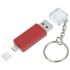View Extra Image 1 of 8 of Carry Along Duo Charging Cable Keychain