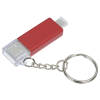 View Extra Image 3 of 8 of Carry Along Duo Charging Cable Keychain