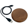 View Image 5 of 5 of Bora Wooden Wireless Charging Pad