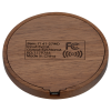 View Extra Image 1 of 4 of Bora Wooden Wireless Charging Pad - 24 hr