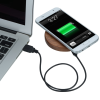 View Extra Image 2 of 4 of Bora Wooden Wireless Charging Pad - 24 hr