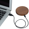 View Extra Image 3 of 4 of Bora Wooden Wireless Charging Pad - 24 hr