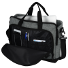 View Extra Image 2 of 3 of Graphite 15 inches Laptop Briefcase Bag - Embroidered