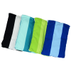 View Extra Image 1 of 2 of Microfiber Beach Towel with Drawstring Pouch - 60 inches x 28 inches