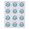"""View Image 2 of 2 of Button Sheeted Stickers - Circle - 2-1/4"""""""