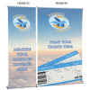 """View Extra Image 7 of 7 of MagnaLink Fabric Retractor Banner - 33-1/2"""""""