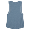 View Extra Image 2 of 2 of Bella+Canvas Flowy Scoop Muscle Tank - Ladies'