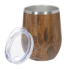 View Extra Image 1 of 1 of Joey Vacuum Tumbler - 12 oz. - Wood