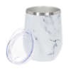 View Extra Image 1 of 1 of Joey Vacuum Tumbler - 12 oz. - Marble