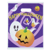 """View Extra Image 1 of 2 of Full Color Halloween Bag - 15"""" x 12"""" - Purple Daze"""
