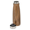 View Extra Image 1 of 1 of Urban Vacuum Bottle - 18 oz. - Wood