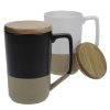 View Extra Image 1 of 1 of Tahoe Tea and Coffee Mug with Lid - 15 oz.
