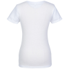 View Extra Image 1 of 2 of American Apparel Blend T-Shirt - Ladies' - White - Screen