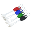 View Extra Image 2 of 3 of Palmero Light-Up Logo Duo Charging Cable - 24 hr