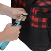View Extra Image 4 of 4 of Buffalo Plaid Cooler Bag - Embroidered