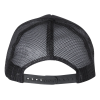 View Extra Image 1 of 1 of Yupoong Foam Trucker Cap with Curved Visor - Full Color