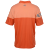 View Extra Image 1 of 2 of adidas Heather 3-Stripes Block Polo