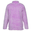 View Extra Image 1 of 2 of J. America Epic Sherpa 1/4-Zip Pullover - Ladies'