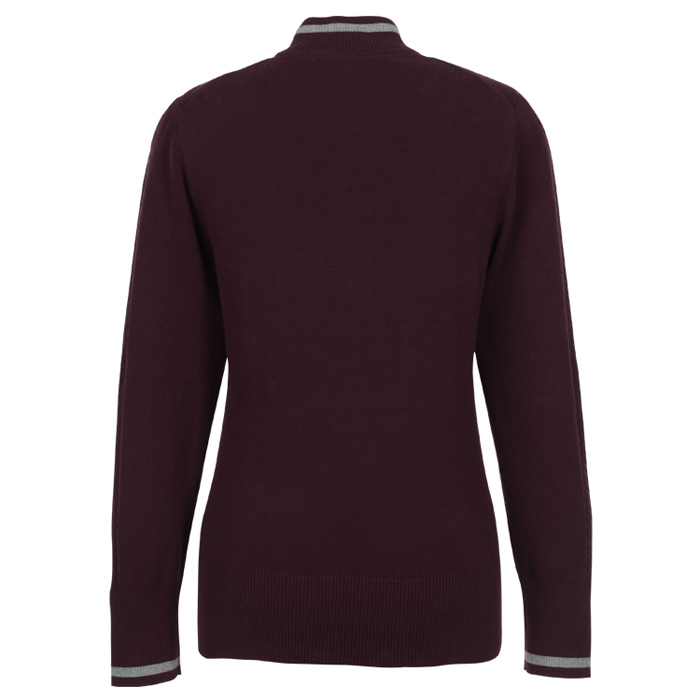 aa3771c2e4d2 4imprint.com: Cutter & Buck Lakemont Tipped Half-Zip Sweater - Ladies'  149482-L