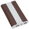 View Extra Image 4 of 6 of Wood Grain Light-Up Logo Power Bank - 6000 mAh