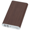 View Extra Image 5 of 6 of Wood Grain Light-Up Logo Power Bank - 6000 mAh