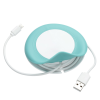 View Extra Image 1 of 5 of Wrap Around Wireless Charging Pad with Duo Charging Cable - 24 hr