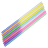 View Extra Image 1 of 1 of Rainbow Confetti Mood Cup with Straw - 20 oz.