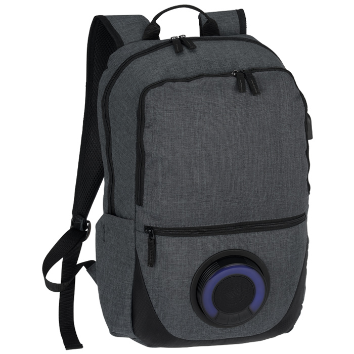 4imprint.com: Blare Bluetooth Speaker Laptop Backpack 149746