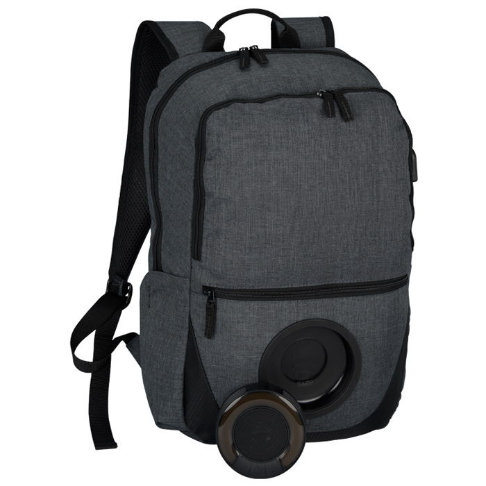 4imprint.com: Blare Bluetooth Speaker Laptop Backpack