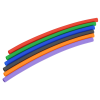 View Image 5 of 5 of Reusable Silicone Straw in Case