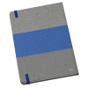 View Image 3 of 4 of Heathered Colorblock Notebook