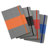 View Image 4 of 4 of Heathered Colorblock Notebook