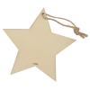 View Extra Image 1 of 1 of Wood Ornament - Star