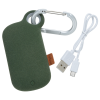 View Extra Image 1 of 6 of Pebble Carabiner Power Bank - 5000 mAh - 24 hr