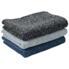 View Image 3 of 3 of Heathered Fleece Blanket - Embroidered
