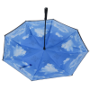 View Extra Image 2 of 3 of Blue Skies Inversion Umbrella - 48 inches Arc