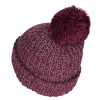View Extra Image 1 of 3 of Pom Pom Beanie with Cuff - Patch