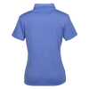 View Extra Image 1 of 2 of adidas Heather Polo - Ladies'