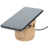 View Extra Image 2 of 3 of Wood Grain Speaker and Wireless Charging Pad