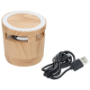 View Extra Image 3 of 3 of Wood Grain Speaker and Wireless Charging Pad