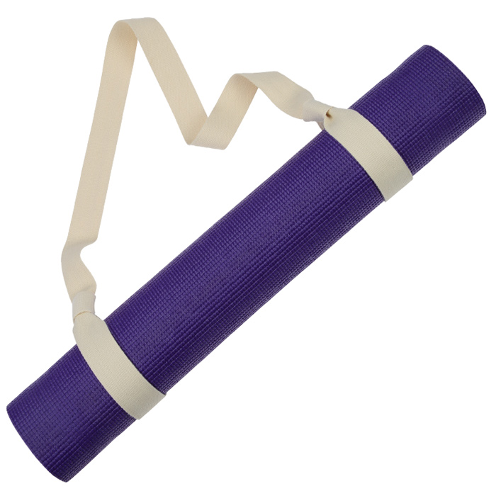 4imprint.com: Lotus Cotton Yoga Mat Strap 150540