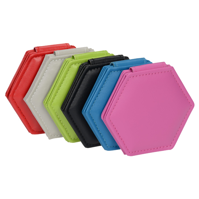 4imprint.com: Hexagon Compact Mirror 150556
