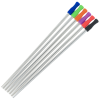 View Extra Image 1 of 1 of Stainless Straw Set in Cotton Pouch - 5 Pack