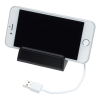 View Image 3 of 6 of Stellar Light-Up Logo Phone Stand with USB Hub
