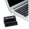 View Image 4 of 6 of Stellar Light-Up Logo Phone Stand with USB Hub