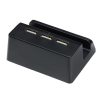 View Image 5 of 6 of Stellar Light-Up Logo Phone Stand with USB Hub