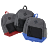 View Image 2 of 5 of Felix Two-Tone Laptop Backpack