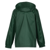 View Extra Image 1 of 3 of Zone Lightweight Hooded Jacket - Youth - Screen